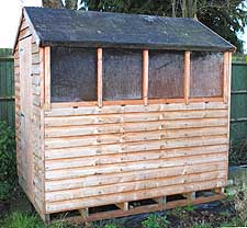 a good garden shed is an important part of the vegetable garden